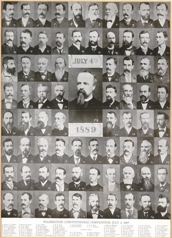 Constitutional Convention, 1889