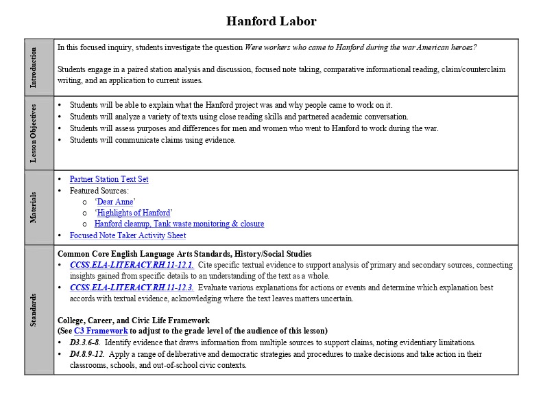 Hanford Labor Lesson Plan with Activity Sheet.pdf