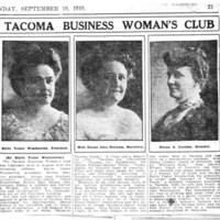 Page 013 : Tacoma Business Woman's Club