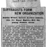 Page 171 : Suffragists Form New Organization