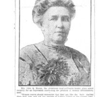 Page 124 : Mrs. John Q. Mason, One of Tacoma's Leaders, Who Cautions New Voters