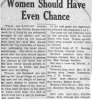 Page 123 : Union Men Agree That Women Should Have Even Chance