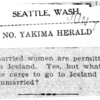 Page 176 : [What Suffragette Cares to Go to Iceland or to Stay Unmarried?]