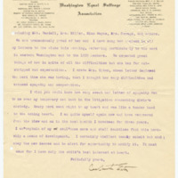 Letter from Cora Smith Eaton to John DeVoe, 3/12/1908, page 2