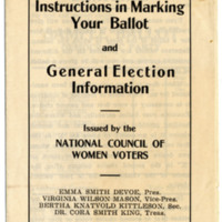 Page 074 : Instructions in Marking Your Ballot