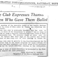Page 091 : Suffrage Club Expresses Thanks To Men Who Gave Them Ballot