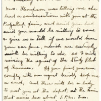 Letter from Mrs. S. George to Emma Smith DeVoe, 10/8/1912, page 2