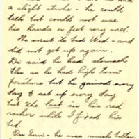 Letter from Fanny Price Webb to Bernice Sapp, 1/23/1929, page 2