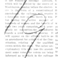Page 050 : Amendment For Women's Suffrage In Washington
