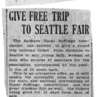 Page 115 : Give Free Trip to Seattle Fair