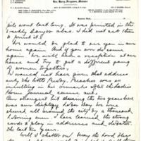 Letter from Harry Ferguson to Emma Smith DeVoe, 12/7/1910, page 2