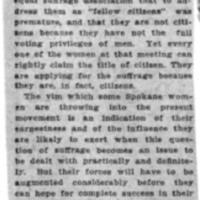Page 157 : Zeal Among Spokane Suffragists