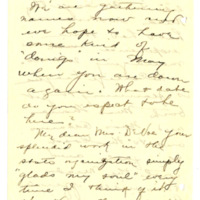 Letter from Adella Parker to Emma Smith DeVoe, 4/13/1908, page 4