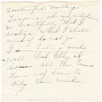 Letter from Elizabeth Wardall to 'My Dear', 1/16/1912, page 2