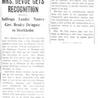 Page 081 : Mrs. DeVoe Gets Recognition
