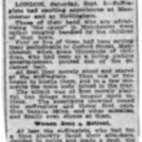 Page 023 : Children Attack Suffragettes
