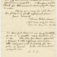 Letter from Luci Isaacs to Emma Smith DeVoe, 6/27/1908, page 2