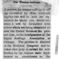 Page 143 : For Women Suffrage