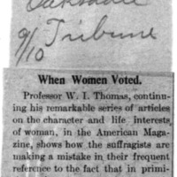 Page 160 : When Women Voted.