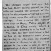 Page 005 : Ballots For Grange Vote on Suffrage