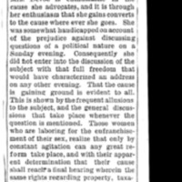 Page 060 : [news clipping: Review of Emma Smith DeVoe lecture on 9/23/1892]