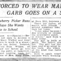 Page 079 : Girl Forced To Wear Man's Garb Goes On A Strike