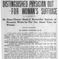 Page 089 : Distinguished Physician Out For Woman's Suffrage