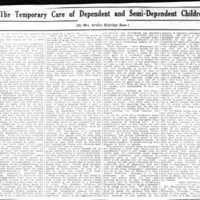 Page 018 : Temporary Care of Dependent and Semi-Dependent Children