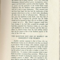 Page 236 : Female Suffrage : from the viewpoint of a male democracy (Page 5)
