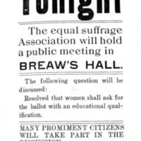 Page 065 : Public Announcement: E.S.A. meeting
