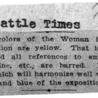 Page 063 : [news clipping: Suffrage Color is Yellow]