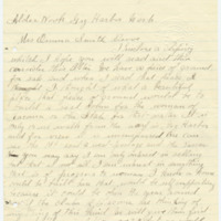 Letter from Christina Hagenmiller to Emma Smith DeVoe, 10/11/????, page 1