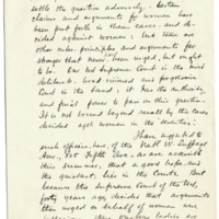 Letter from Henry Opdyke to Emma Smith DeVoe, 7/25/1913, page 2