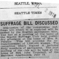 Page 023 : Suffrage Bill Discussed