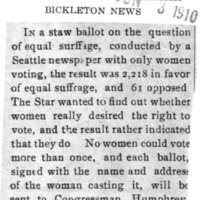 Page 159 : [Star Readers in Favor of Equal Suffrage]