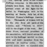 Page 002 : [news clipping: Women in Seattle for convention]