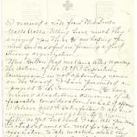 Letter from Lena Allen to Emma Smith Devoe, 3/25/1908, page 2