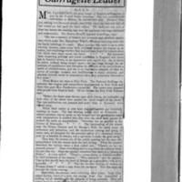 Page 001 : Mrs. Pankhurst Suffragette Leader