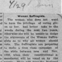 Page 130 : Woman Suffragists