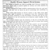 Page 052 : Seattle Women Support Moral Issues