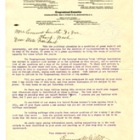 Letter from Emma Gillett to Emma Smith DeVoe