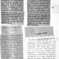 Page 177 : [news clipping: Equal Suffrage in Two Sets]
