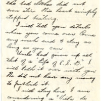 Letter from Fanny Price Webb to Bernice Sapp, 1/23/1929, page 4