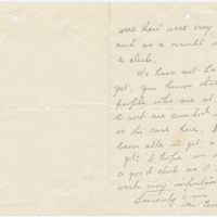 Letter from Leanna Campbell to Ellen Leckenby, ?/?/[1908], page 2