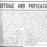 Page 017 : Suffrage and Population