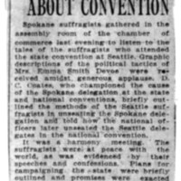 Page 107 : Suffragists Talk About Convention