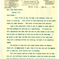 Letter from Martha Almy to Emma Smith Devoe, 2/3/1894, page 1