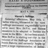 Page 33 : Woman's Suffrage