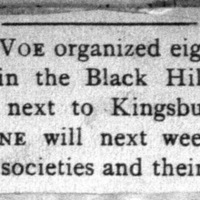 Page 42 : [news clipping: Emma Smith DeVoe goes to Kingsbury]