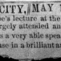 Page 33 : [news clipping: Emma Smith DeVoe in Lead City]
